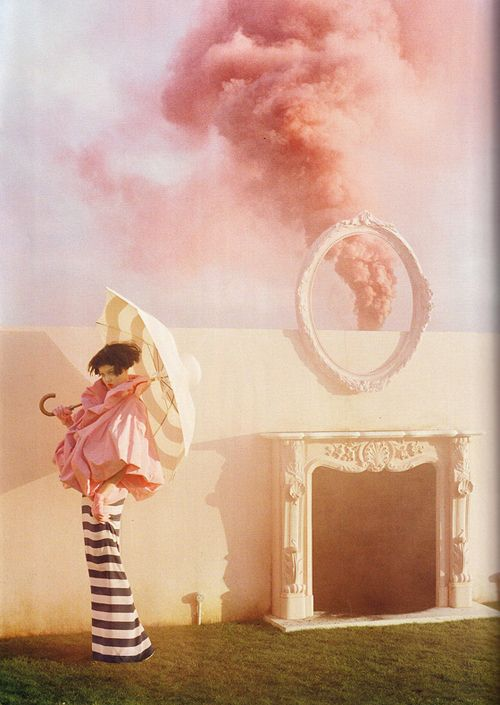 By Tim Walker {one of my favorite} via The House that Lars Built! Click image to see the full post!