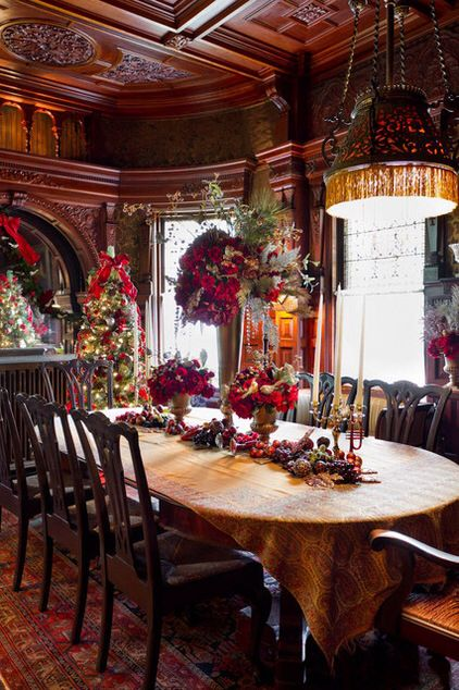 Christmas Dining Room 206 best christmas dining room images on pinterest | christmas
