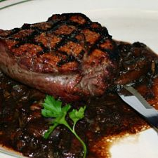 Filet Mignon with Mushrooms - OMG! YUM!!!!!!!