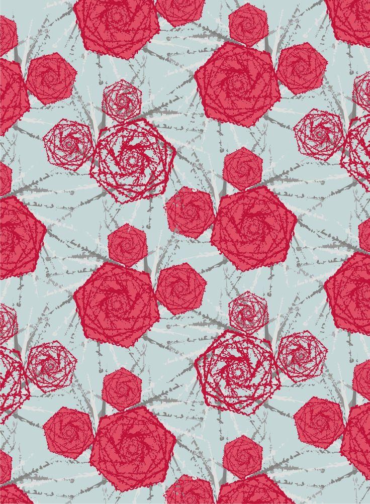 ... las rosas son rojas...
