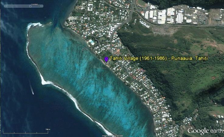 Google Earth capture of Tahiti Village location 1961-1986