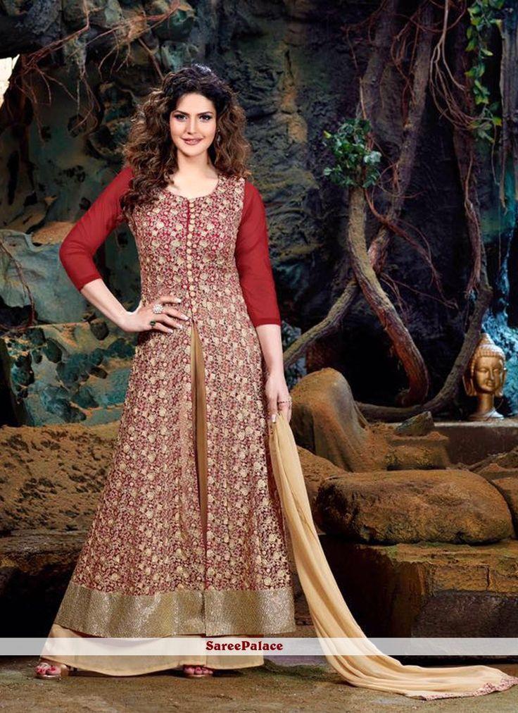 Zarine Khan Georgette Designer Suit
