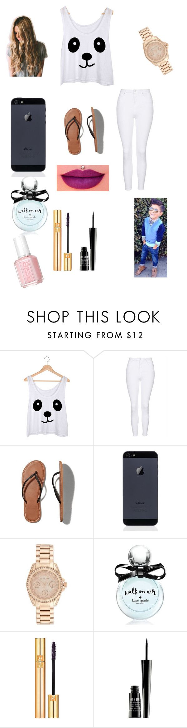"""Building a fort with Ryan for all the kids"" by bellzellz ❤ liked on Polyvore featuring Topshop, Abercrombie & Fitch, Michael Kors, Anastasia Beverly Hills, Kate Spade, Yves Saint Laurent, Lord & Berry and Essie"