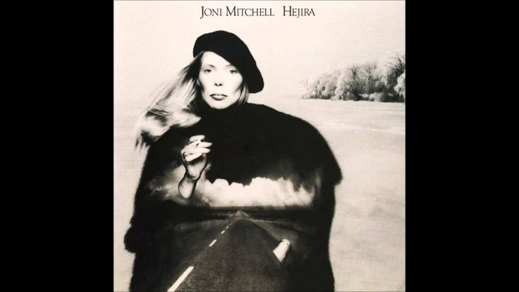 Joni Mitchell - Hejira (1976) Full Album with Jaco Pastorius on bass
