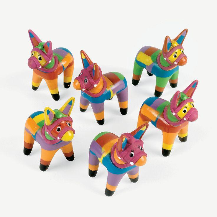 $8.50 per dozen Fiesta Donkeys - OrientalTrading.com