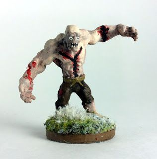Must Contain Minis: Showcase: Flesh Golem by Reaper Miniatures