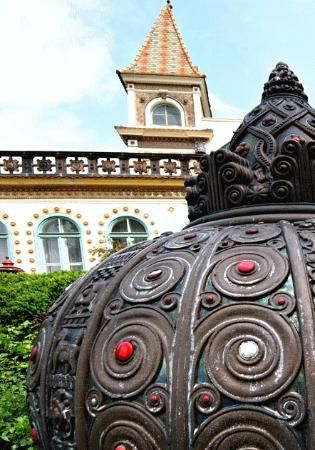 The ceramic-decorated southern city of Pecs