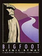 The Bigfoot Scenic Byway (Highway 96) connects the town of Happy Camp with Willow Creek, 90 miles away.