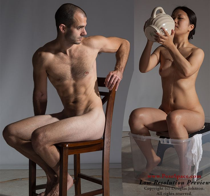 Ayame and JohnV #ArtModelsNew poses this week focus mostly on ordinary activities like sitting, thinking, bathing, and waiting. See all of them at http://posespace.com/posetool/recent.aspx