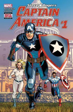 Marvel faz grande revelação sobre o Capitão América em nova revista! - Legião dos Heróis   WTF? Como assim?
