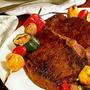 Blackened Rib Eye Steak