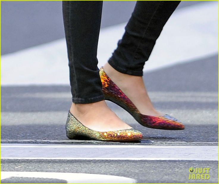 Love!!! Where can you find these rainbow flats? Blake Lively was wearing them around New York..