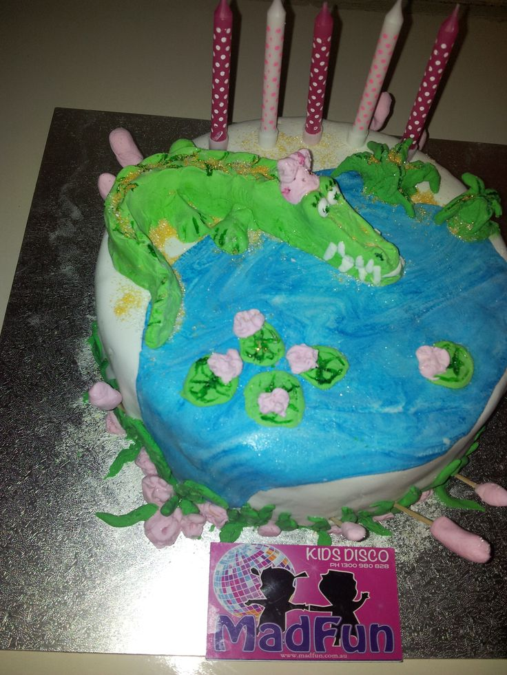 Eat this cake before it eats you!