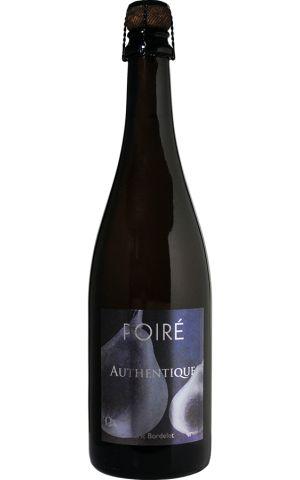 Eric Bordelet Poire Authentique   Sparkling Perry Cider  NV / 750 ml.