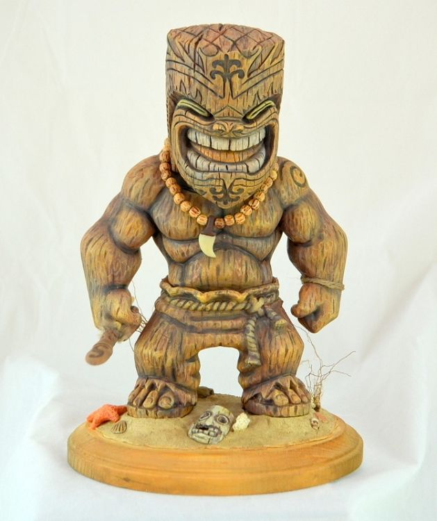 We are looking at making more of this series of Tiki warrior. Description from mahalotiki.com. I searched for this on bing.com/images