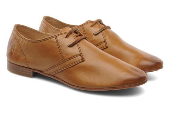 Frye Jillian Oxford (Marron) - Chaussures à lacets chez Sarenza (205205)