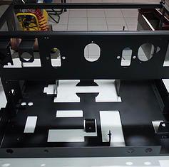 Σκελετός μηχανής Wega epu2 βαμμένος