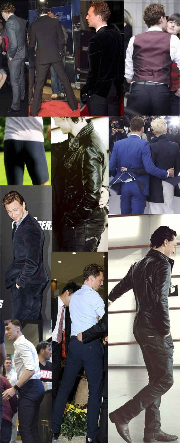 Now if you want a Brazilian butt like Tom's..... NOW SELLING, HIDDLES BUTTOCKS LIFT! They're truly Loki Liscious. When you walk by, everyone's gonna want that Hiddle bum. So go buy it at Wal-Mart for 7 doses of YOU WILL NEVER HAVE TOM HIDDLESTON'S PERFECT BUM! I like big Tom butts and i cannot lie, all the fangirls can't deny. <-- By Jojo :)