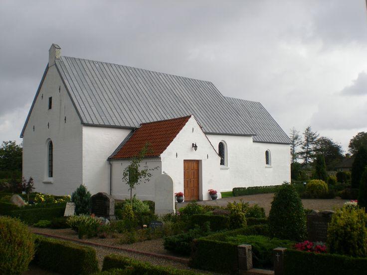 Astrup Church, Astrup kirke, Astrup, Denmark. Photo: Kurt Thorleif Jensen.