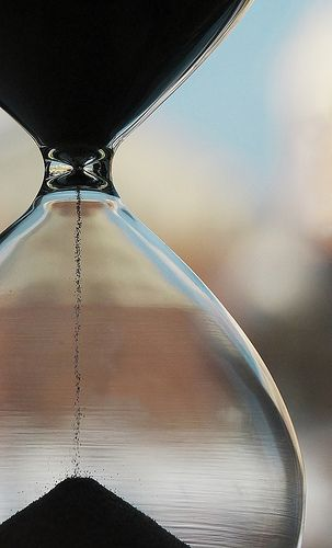 """Like Sands Through The Hourglass... So Are The Days Of Our Lives""...."