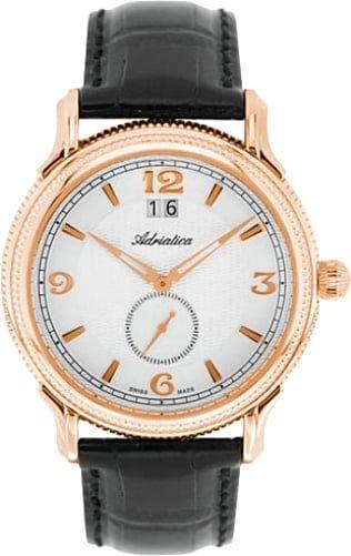 Мужские часы Adriatica A1273.1253Q Мужские часы Romanson TM5A20MG(WH)