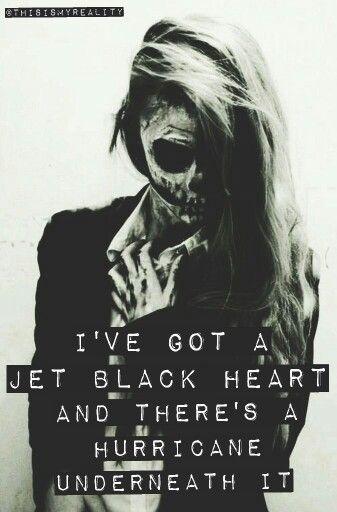 Jet Black Heart Edit by @ThisIsMyReality