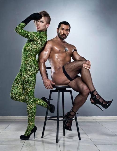 Full figured nude female models