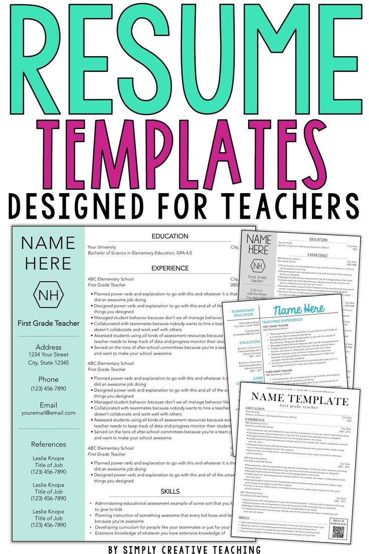 Teacher resume tips tricks teacher resume template