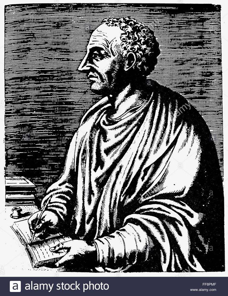 Livy (59 B.c.-17 A.d.). /ntitus Livius. Roman Historian. Copper Stock Photo, Royalty Free Image: 95465119 - Alamy