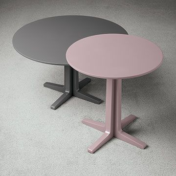 Luis, occasional table designed and manufactured by Oasis Group, for the Home collection.  #interiordesign #luxury #pink