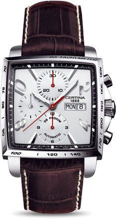 Certina Watch DS Podium Square Chrono Automatic A #2015-2016-sale #bezel-fixed…
