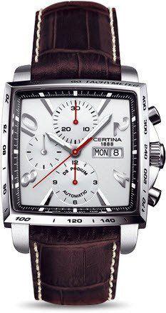 Certina Watch DS Podium Square Chrono Automatic A #2015-2016-sale #bezel-fixed…
