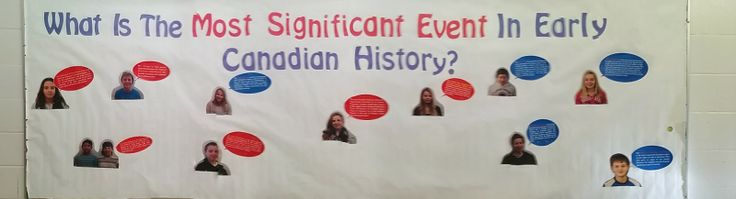 Connect!: Grade 7 Canadian History - Getting students engaged in Canadian history