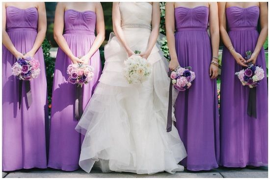 212 Best Images About Purple Bridesmaid Dresses On Pinterest