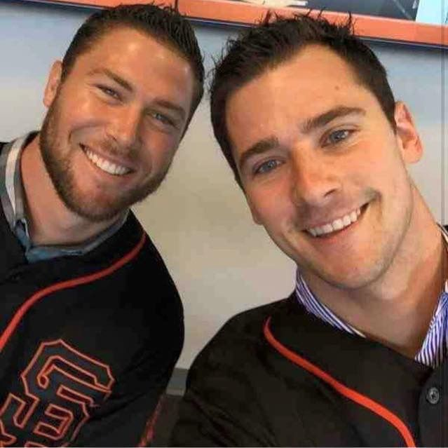Hunter Strickland and Andrew Susac. So handsome!!