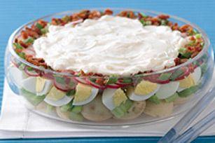 Salade de pommes de terre classique