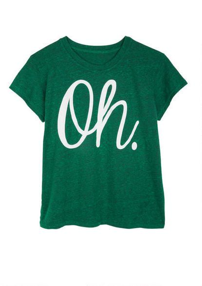 Oh Tee - View All Graphic Tees - Graphic Tees - Clothing - dELiA*s