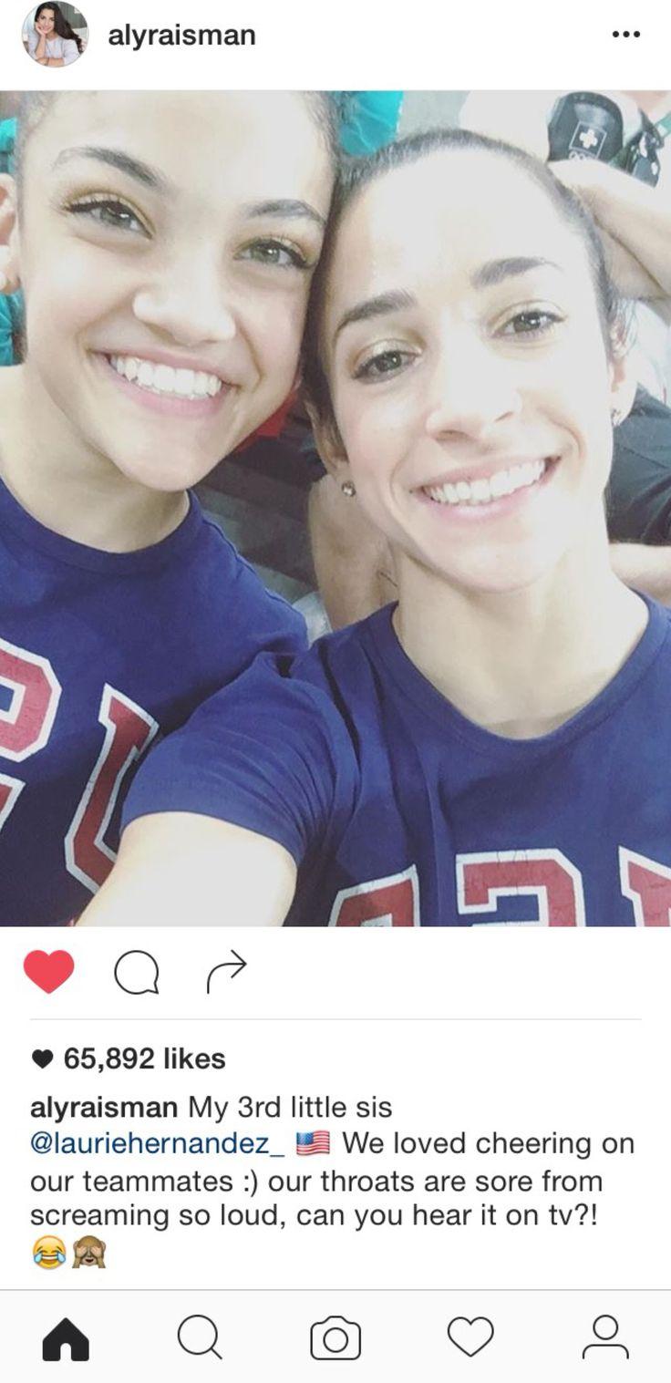 Laurie Hernandez & Aly Raisman // Rio 2016