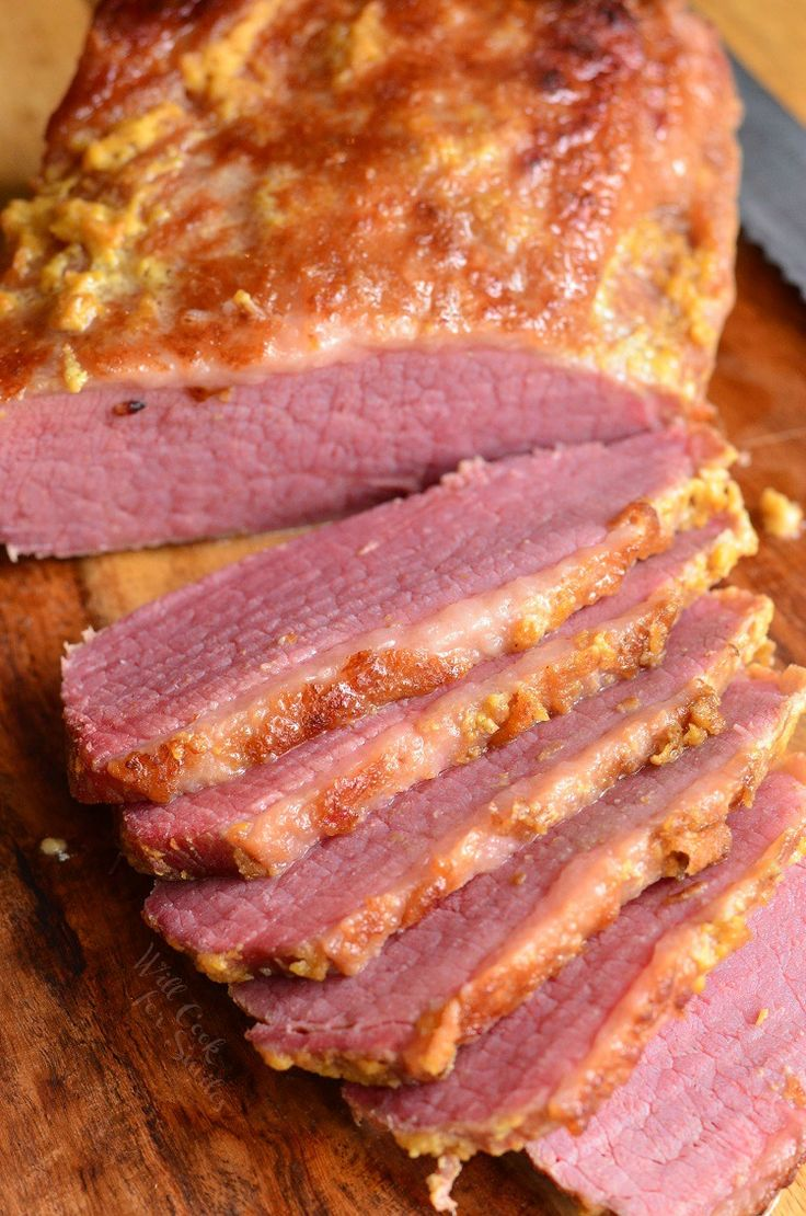 Amazing, tender corned beef brisket cooked in the oven with just three ingredients. This brisket is flavorful, easy, and comes out so tender.