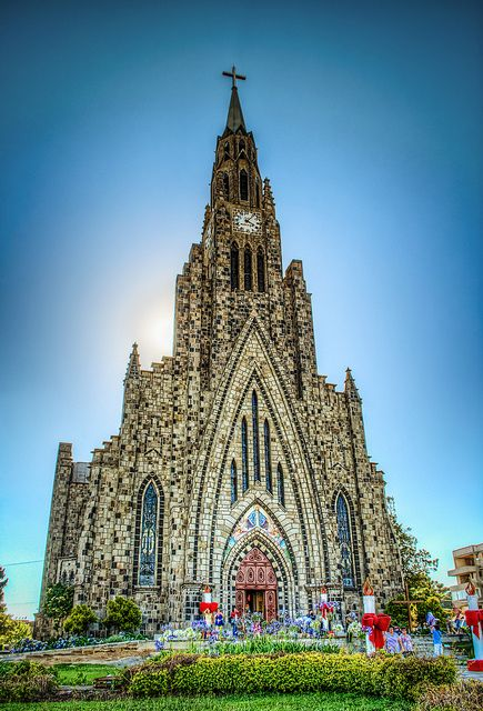Cathedral of Our Lady of Lourdes, Brazil Canela-Rio Grande do Sul