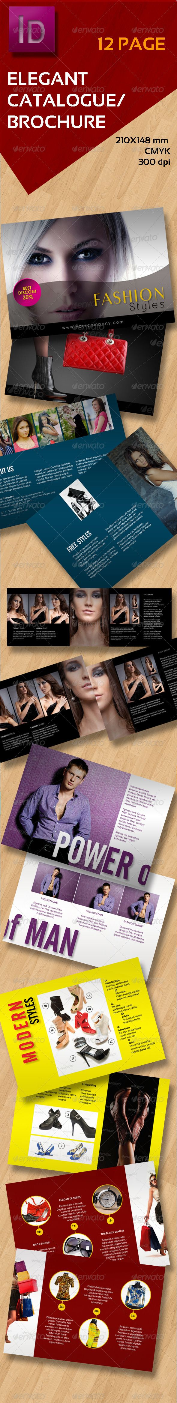 "Elegant A5 Catalogue  #GraphicRiver         Features  	 InDesign CS4 210mm x 148 mm 12 pages + Cover Print ready Bleed inches: 0.25 in CMYK – 300 dpi Files Included PDF help file  	 Font used: - Asenine: img.dafont /dl/?f=asenine - PenultimateLight:  .fonts101 /fonts/view/Uncategorized/51981/PenultimateLight - Sansation: img.dafont /dl/?f=sansation - Century Gothic  all images in ""priview"" not included in ""Main File"" Photos used in the previews can be purchased on photodune! photodune…"