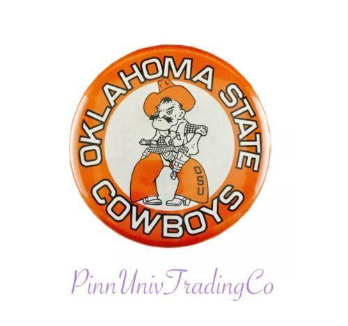 OSU-Oklahoma-State-Cowboys-University-Vintage-Metal-Pin-Pinback-3-5-034