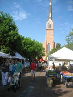 Charleston Farmer's Market - voted one of America's best!