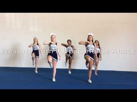 Mayfair Monsoon Sideline cheers 2016-2017 - YouTube