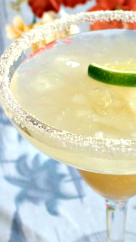 recipes for margarita machine