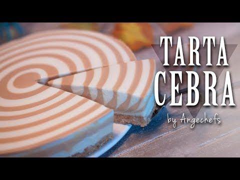 Tarta Cebra de Queso, Yogur y Dulce de Leche · Receta Fácil y Rápida - YouTube