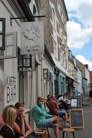 La Cabra Kaffebar, Graven.