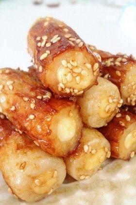 お弁当に☆チーズinちくわの甘辛焼き by 水菜ママ [クックパッド] 簡単 ...