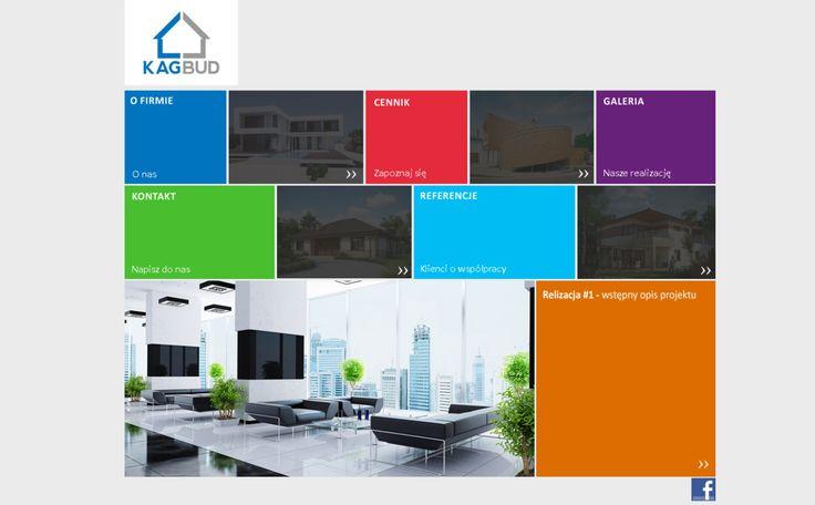 Kagbud (building company) final web desing