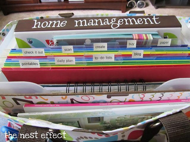 home management kit - using a 31 organizing utility tote www.mythirtyone.com/KwickyKreativeGifts KwickyKreativeGifts@gmail.com